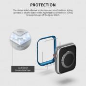 Ringke Bezel Styling - стоманена рамка с висока степен на защита за Apple Watch 40мм (син) 2