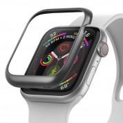 Ringke Bezel Styling - стоманена рамка с висока степен на защита за Apple Watch 40мм (сив-мат)