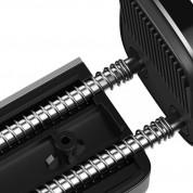 Baseus Steel Cannon Air Outlet Car Mount (SUGP-0S) - поставка за радиатора на кола за смартфони (сребрист) 4