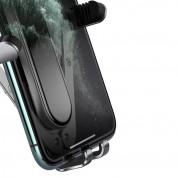Baseus Penguin Gravity Car Vent Mount (SUYL-QE01) - поставка за радиатора на кола за смартфони с дисплеи до 6.5 инча (сребрист) 4