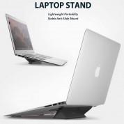 Ringke Universal Laptop Stand - сгъавема, залепяща се към вашия компютър поставка за MacBook и лаптопи (черен) 1