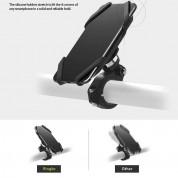 Ringke Spider Grip Bike Mount - поставка за велосипеди за смартфони до 15.8 см (черен) 3
