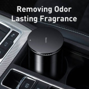 Baseus Minimalist Car Cup Holder Air Freshener (SUXUN-CE01) - ароматизатор за автомобил с функция за премахване на формалдехид (черен) 3