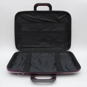 Bombata Mediobombata Nylon - текстилна чанта с презрамка за MacBook Pro 13, Air 13 и лаптопи до 14 инча (черен) 1