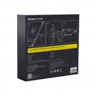 Baseus RGB Colorful Light Strip Extension Pack (DGRGB-01) - удължение за светеща лента с бяла и цветна светлина Baseus GAMO (100 см) (черен) 6