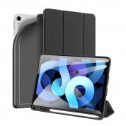 DUX DUCIS Osom TPU Gel Tablet Cover - термополиуретанов (TPU) кейс и поставка за iPad Air 4 (2020) (черен)