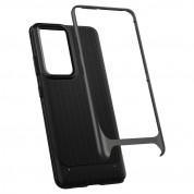 Spigen Neo Hybrid Case - хибриден кейс с висока степен на защита за Samsung Galaxy S21 Ultra (сив) 7