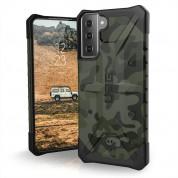 Urban Armor Gear Pathfinder Case - удароустойчив хибриден кейс за Samsung Galaxy S21 Plus (зелен камуфлаж)