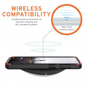Urban Armor Gear Civilian Case - удароустойчив хибриден кейс за Samsung Galaxy S21 (черен) 8