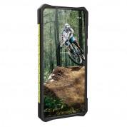 Urban Armor Gear Plasma Case - удароустойчив хибриден кейс за Samsung Galaxy S21 Plus (зелен-прозрачен) 3