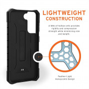Urban Armor Gear Pathfinder Case - удароустойчив хибриден кейс за Samsung Galaxy S21 (черен) 8