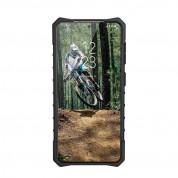 Urban Armor Gear Plasma Case - удароустойчив хибриден кейс за Samsung Galaxy S21 Plus (син-прозрачен) 4