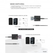 Rovtop 2-in-1 Bluetooth Wireless Receiver and Transmitter - Bluetooth аудио приемник и предавател с 3.5 мм аудио жак (черен) 8