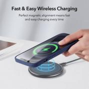ESR Cloud Halolock Case - силиконов (TPU) калъф с вграден магнитен конектор (MagSafe) за iPhone 12 mini (тъмносин) 1