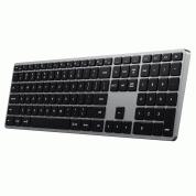 Satechi Slim X3 Bluetooth Backlit Keyboard  - качествена алуминиева безжична блутут клавиатура за Mac (тъмносив)  2