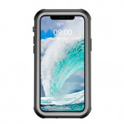 Waterproof Heavy Duty Case - ударо и водоустойчив кейс за iPhone 12 mini (черен) 2