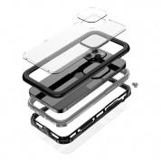 Waterproof Heavy Duty Case - ударо и водоустойчив кейс за iPhone 12 Pro Max (черен) 3