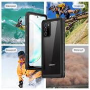 Waterproof Heavy Duty Case - ударо и водоустойчив кейс за Samsung Galaxy S20 (черен) 2