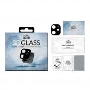 Eiger Glass 3D Camera Lens Protector - предпазен стъклен протектор за камерата на iPhone 12 mini (черен) 1