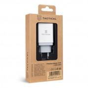 Tactical LZ-067 USB-A 3.1A Travel Charger - захранване за ел. мрежа с USB-A изход и USB-C кабел за зареждане на мобилни устройства (бял) 1