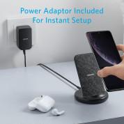 Anker PowerWave 2 Sense Stand 15W - поставка (пад) за безжично захранване за QI съвместими устройства (сив) 6