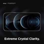 Elago Tempered Glass - калено стъклено защитно покритие за дисплея на iPhone 12, iPhone 12 Pro (прозрачен) 1