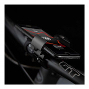 4smarts Bike Holder RingMount - универсална поставка за велосипед за смартфони (сребрист) 4