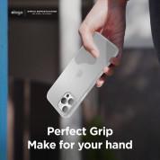 Elago Inner Core Case - тънък полипропиленов кейс (0.5 mm) за iPhone 12, iPhone 12 Pro (прозрачен-мат) 3