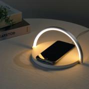 Platinet LED Lamp Wireless Charger 10W (PLCWLED) - настолна LED лампа с фукция безжично зареждане (бял) 3