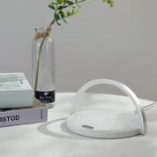 Platinet LED Lamp Wireless Charger 10W (PLCWLED) - настолна LED лампа с фукция безжично зареждане (бял) 2