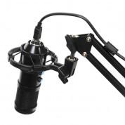 VARR Gaming Microphone Tube USB - геймърски настолен USB микрофон за запис и стрийминг (черен) 1
