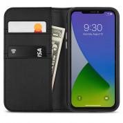 Moshi Overture SnapToª Case - елегантен кожен калъф (с кейс) тип портфейл за iPhone 12 Mini (черен) 2
