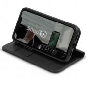 Moshi Overture SnapToª Case - елегантен кожен калъф (с кейс) тип портфейл за iPhone 12 Mini (черен) 3