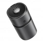 Baseus Breeze Fan Air Freshener for Vehicles (SUXUN-AWF01) - ароматизатор за автомобил с вентилатор (тъмносив) 1