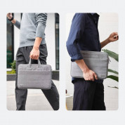 Ugreen Laptop Bag 13 - елегантна чанта за MacBook Pro 13 и лаптопи до 13 инча (сив) 4
