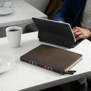 TwelveSouth BookBook V2 Leather Cover - уникален кожен калъф с отделение за Apple Pencil за iPad Pro 12.9 (2020) (кафяв) 4