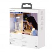 Baseus Comfort Reading Charging Uniform Light Hose Desk Lamp - настолна LED лампа с гъвкаво рамо (бяла светлина) 4