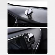 Baseus Radar Magnetic Car Mount (SULD-01) - магнитна поставка за таблото или вентилационната решетка на автомобил за iPhone 12, iPhone 12 Pro (черен) 8