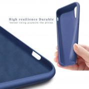 Vennus Silicone Case Lite - силиконов (TPU) калъф за Samsung Galaxy S21 Ultra (син) 3