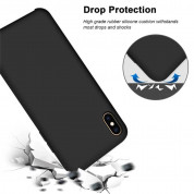 Vennus Silicone Case Lite - силиконов (TPU) калъф за Samsung Galaxy S21 Ultra (светлосин) 7