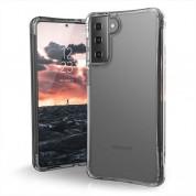 Urban Armor Gear Plyo Case - удароустойчив хибриден кейс за Samsung Galaxy S21 Plus (прозрачен)