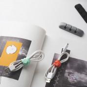 Ringke Set 10 x Silicone Strap Cable Organizer - 10 броя силиконови органайзери за кабели (в различни цветове) 2