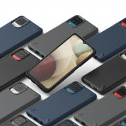 Ringke Onyx Durable TPU Case - силиконов (TPU) удароустойчив кейс за Samsung Galaxy A12 (черен) 6