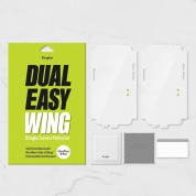 Ringke Dual Easy Wing 2x Screen Protector - 2 броя матирано защитно покритие с извити ръбове за целия дисплей на OnePlus 9 Pro 12