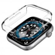 Spigen Thin Fit Case - качествен твърд кейс за Apple Watch 40мм (прозрачен) 2