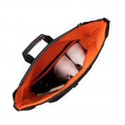 Knomo Novello Roll-Top Laptop Backpack 15 - луксозна мъжка раница (черен) 3