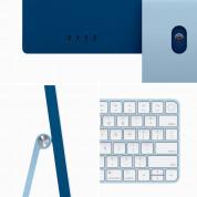 Apple iMac M1 24 инча, 8C CPU/8C GPU/8GB/256GB (син) (модел 2021) 3