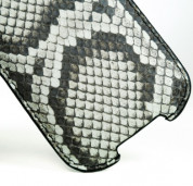 FitCase Pouch Snake Skin - genuine snake leather case for iPhone 4/4S 4