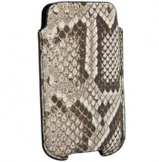 FitCase Pouch Snake Skin - genuine snake leather case for iPhone 4/4S 5