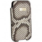 FitCase Pouch Snake Skin - genuine snake leather case for iPhone 4/4S 2